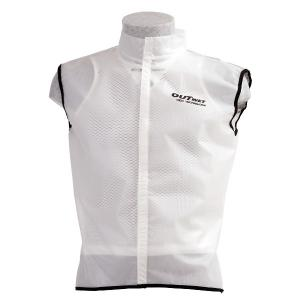 Impermeable-Chaleco Outwet Gil-SR Blanco