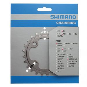 Plato Mtb Shimano XT FC-M780/770 BCD64mm 3x10v 24T