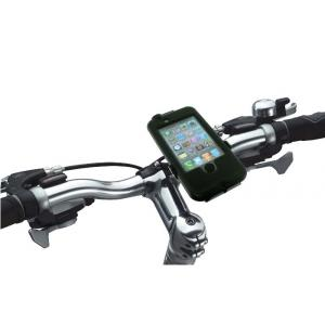Soporte - Funda Bici iPhone 4/4S Impermeable - Antigolpes Tigrasport