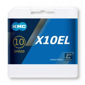Cadena KMC X10-EL Silver 10v