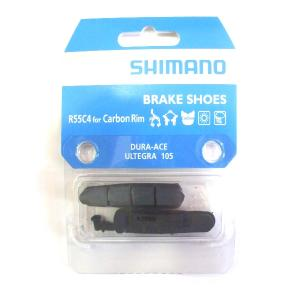 2 Zapatas Freno Carretera SHIMANO R55C4 Carbono