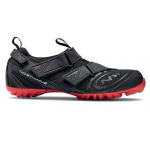 Zapatillas Indoor Northwave Multi-App Negro/Rojo