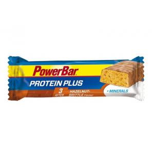 Barrita Energética Powerbar Protein Plus + Minerales Avellana-Caramelo