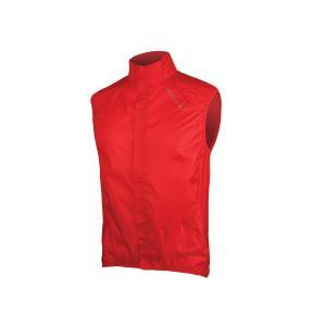Chaleco Impermeable ENDURA Pakagilet Rojo