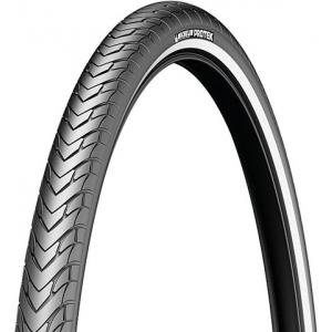 Cubierta 700x35C Michelin Protek Flanco Reflectante