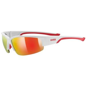 Gafas Uvex Sportstyle 215 Blanco-Rojo