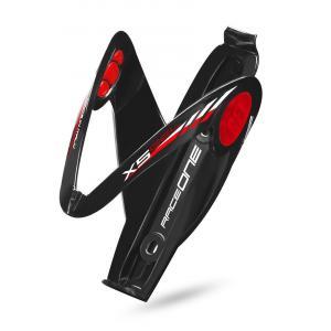 Portabidón Raceone X5 Negro-Rojo