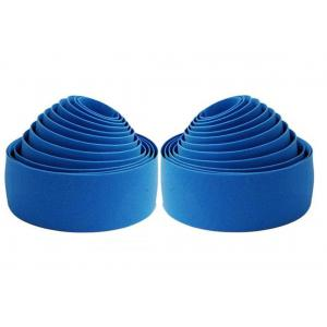 Cinta Manillar Velo Corcho Gel Azul