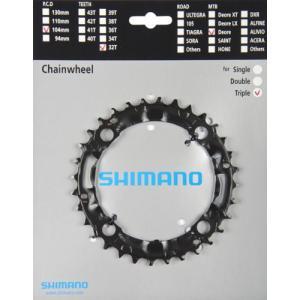 Plato Mtb Shimano Deore FC-M590/480 BCD104mm 3x9v 32T