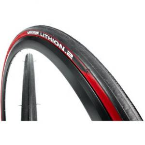 Cubierta Carretera 700x23 Michelin Lithion.2 Rojo