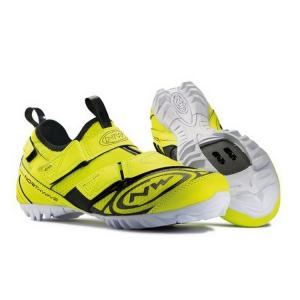 Zapatillas Indoor Northwave Multi-App Amarillo Fluor