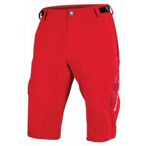 Pantalón Corto ENDURA Singletrack Lite Rojo