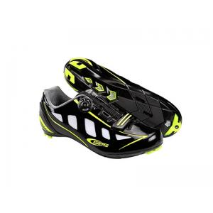 Zapatillas Carretera Ges Speed Negro-Amarillo Fluor