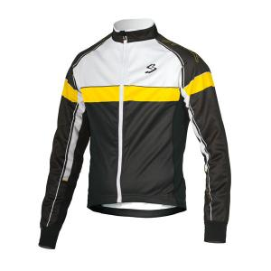 Chaqueta SPIUK Performance Negro-Blanco-Amarillo New
