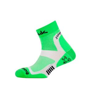 Calcetines Spiuk XP Running Verde-Blanco