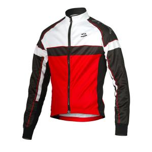 Chaqueta Spiuk Performance Negro-Blanco-Rojo New