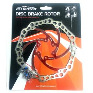 Disco de Freno Alligator Rotor 180mm Rojo