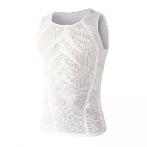 Camiseta Interior sin Mangas BIOTEX Red Powerflex Blanco