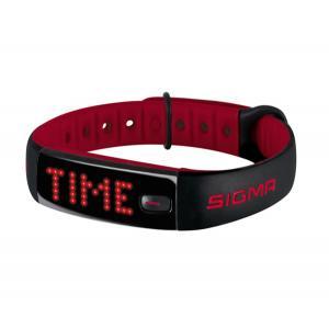 Pulsómetro Sigma Activo Negro-Rojo