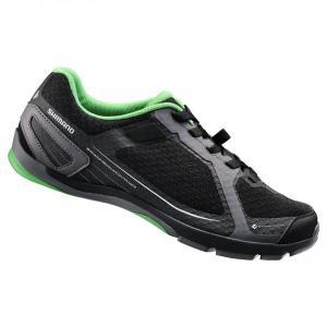 Zapatillas Mtb Shimano SH-CT41 Negro-Verde