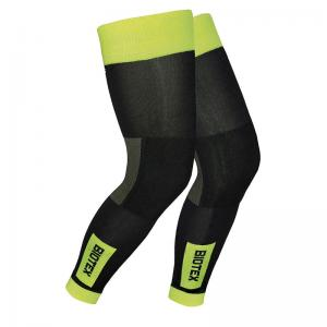 Perneras Biotex Thermal Negro-Amarillo Fluor