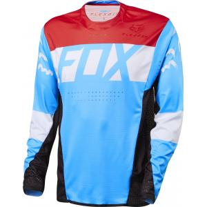 Maillot Fox Flexair Rojo-Azul-Blanco