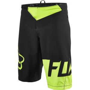 Pantalón Corto Fox Flexair Negro-Amarillo Fluor