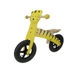 Bicicleta Infantil Sin Pedales Madera M-Wave Tigre