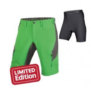 Pantalón Corto Endura Singletrack III Verde
