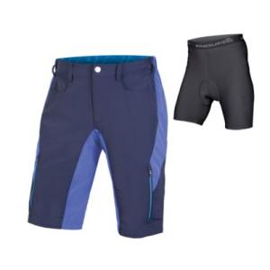 Pantalón Corto Endura Singletrack III Azul