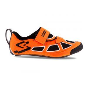 Zapatillas Triatlón Spiuk Trivium Carbono Naranja