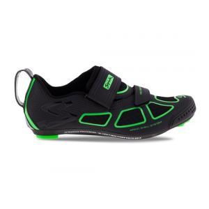 Zapatillas Triatlón Spiuk Trivium Negro-Verde