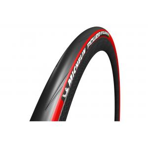 Cubierta Carretera 700x25 Michelin Power Endurance Rojo