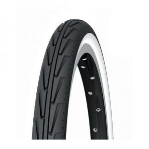 Cubierta 24x1-3/8 Michelin Diabolo City Blanco/Negro