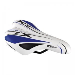 Sillín Ges Junior Race XC Blanco/Azul/Negro