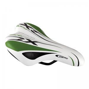Sillín Ges Junior Race XC Blanco/Verde/Negro