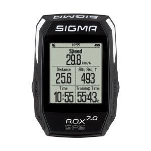 Ciclocomputador Sigma  Rox 7.0 GPS Negro