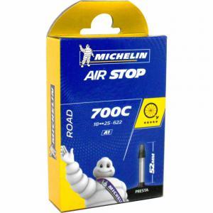Cámara Carretera Michelin Airstop 700x18/25 Válvula 52mm