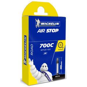 Cámara Carretera Michelin Airstop 700x18/25 Válvula 40mm
