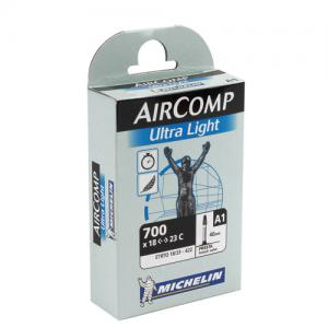 Cámara Carretera Michelin Aircomp Ultralight 700x18-23 Válvula 40mm
