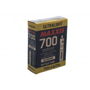 Cámara Carretera Maxxis Ultralight 700x18-25 Válvula 48mm