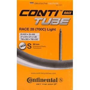 Cámara CONTINENTAL Race Light 700 x 20-25 Válvula 80 mm