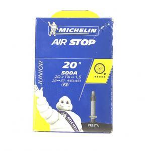 Cámara Híbrida Michelin 500x28 - 37A Válvula Presta