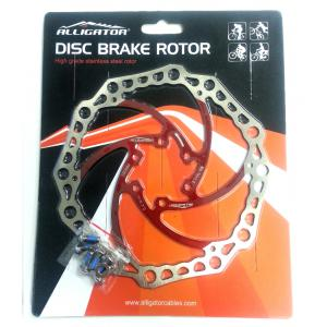 Disco de Freno Alligator Rotor 160mm Rojo