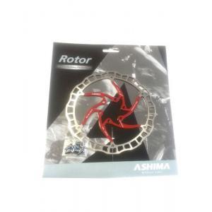 Disco de Freno Ashima Air Rotor 180mm Rojo