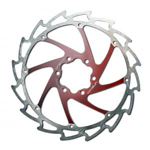 Disco de Freno UNEX Sierra 160mm Rojo