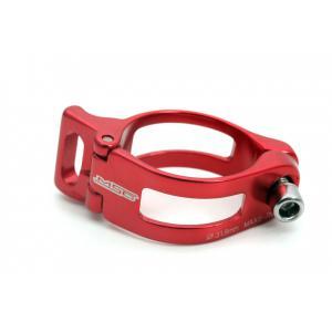 Abrazadera Desviador Saldare MSC 31.8mm Rojo