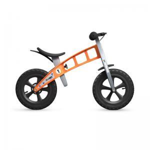 Bicicleta Infantil Sin Pedales FirstBike Cross Naranja