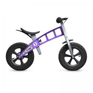 Bicicleta Infantil Sin Pedales FirstBike Cross Violeta