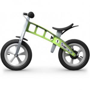 Bicicleta Infantil Sin Pedales FirstBike Street Verde